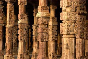 Columns-at-Qutab-Minar